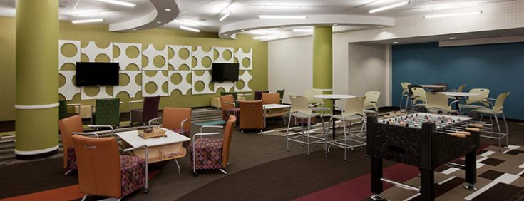 Johnson County Community College Renovation Project HMN Architects Classy Interior Design Technology Remodelling