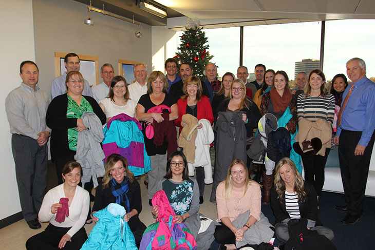 HMN Coats for Christmas Drive