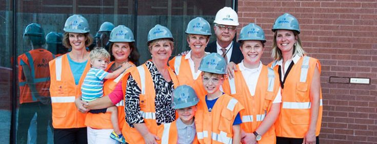 Brick Laying Ceremony - Olathe Medical Center