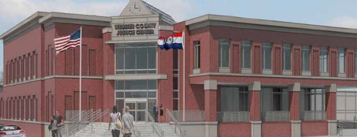 Webster County Justice Center Rendering