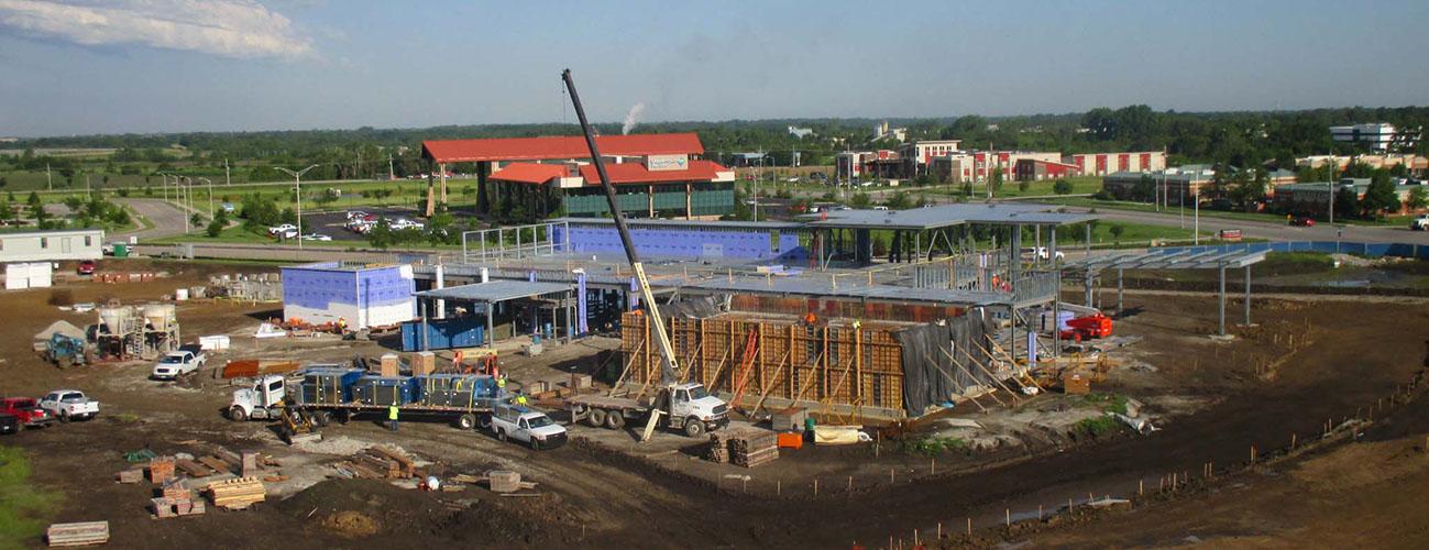 Olathe Health Cancer Center Construction
