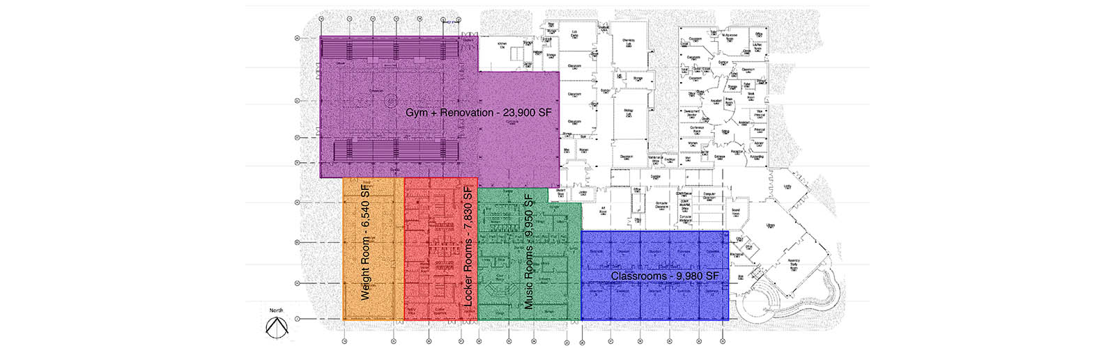 Summit Christian Academy Floor Plan